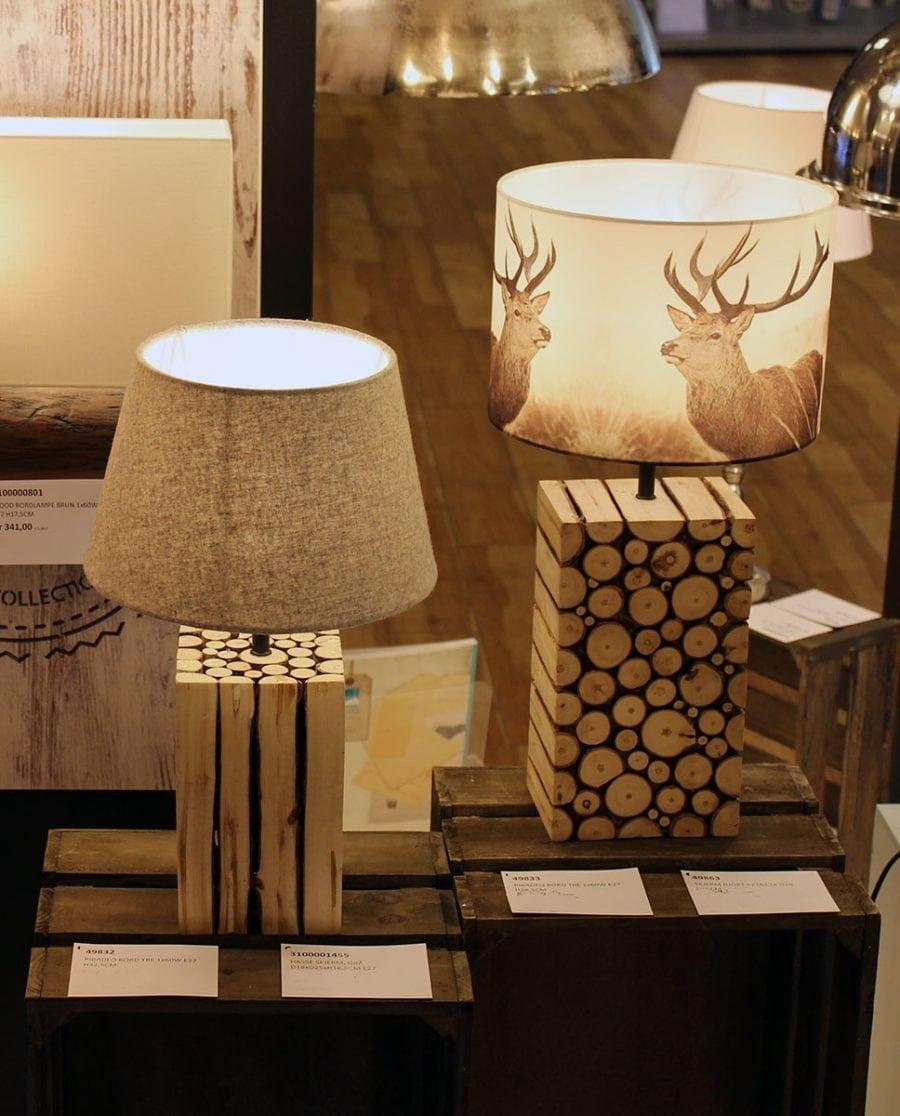Ribadeo Bordlampe 32,5 cm-68757