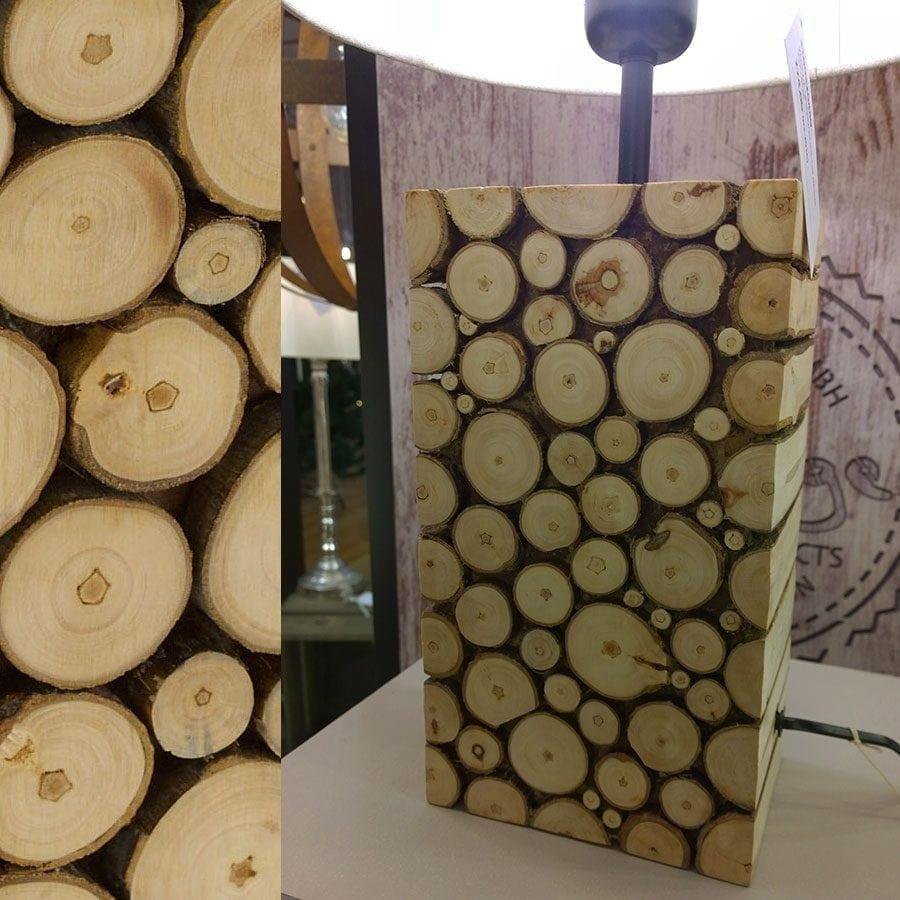 Ribadeo Bordlampe 38,5 cm-58679