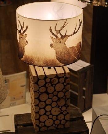 Ribadeo Bordlampe 38,5 cm-0