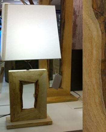 Ribadeo Bordlampe 41,5 cm-0