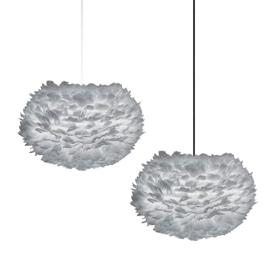 VITA Eos Medium Fjær Grå Lampeskjerm-61010