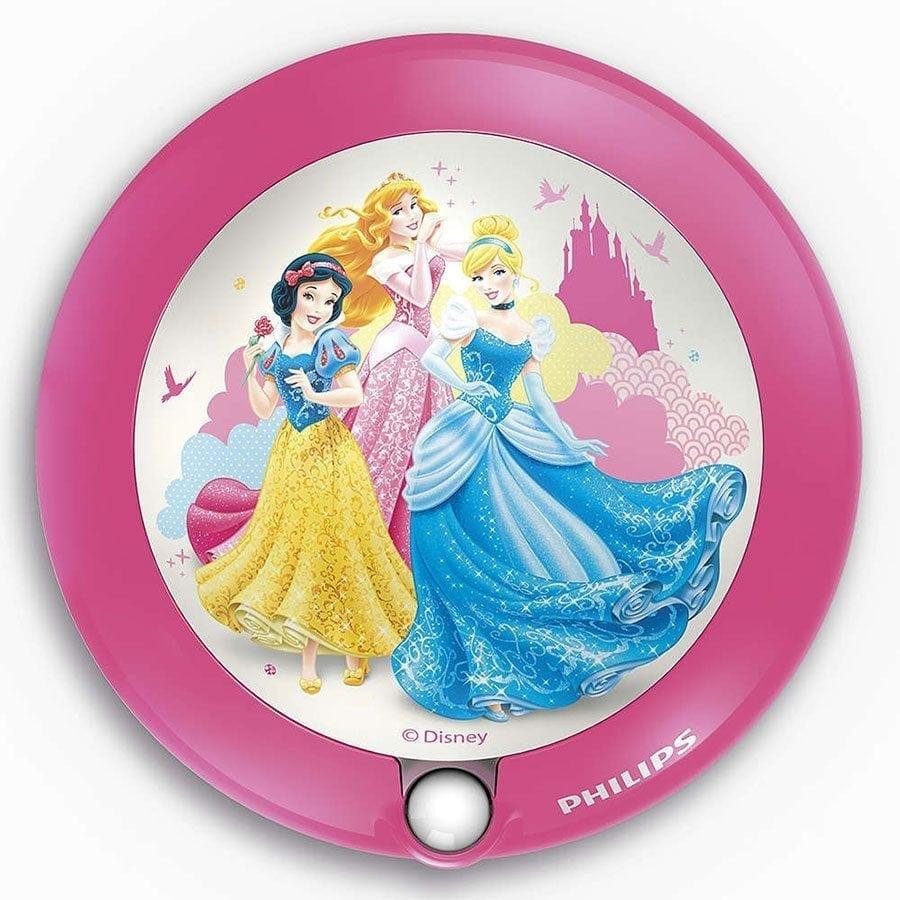 Philips Disney LED Nattlys med sensor Prinsesser-0