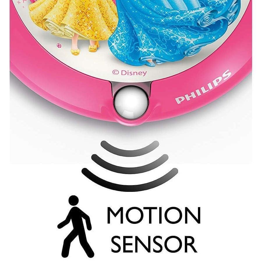 Philips Disney LED Nattlys med sensor Prinsesser-58974