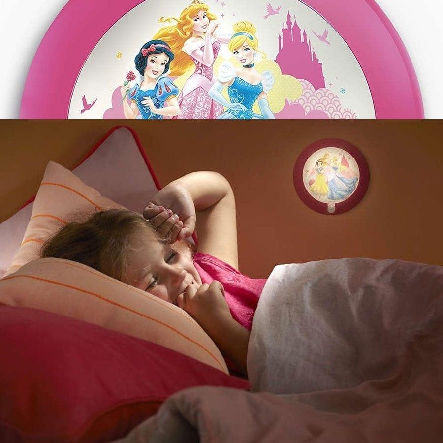 Philips Disney LED Nattlys med sensor Prinsesser-58975