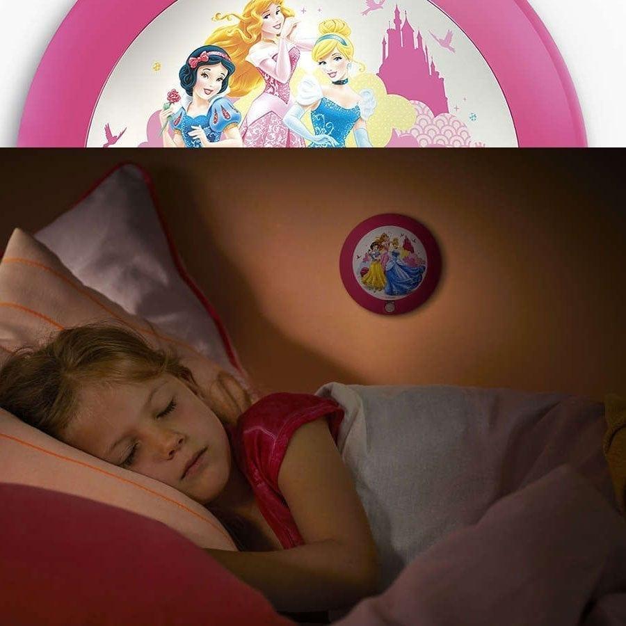 Philips Disney LED Nattlys med sensor Prinsesser-58972