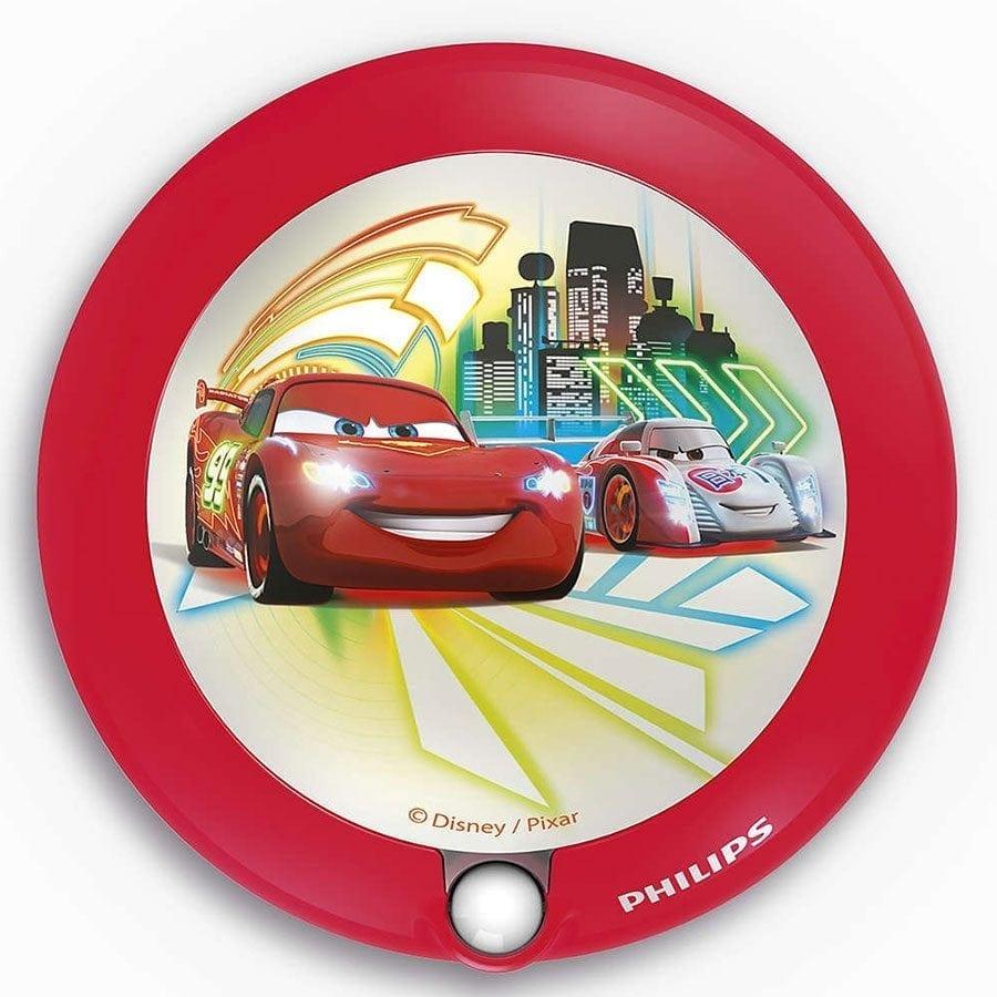 Philips Disney LED Nattlys med sensor Biler-0