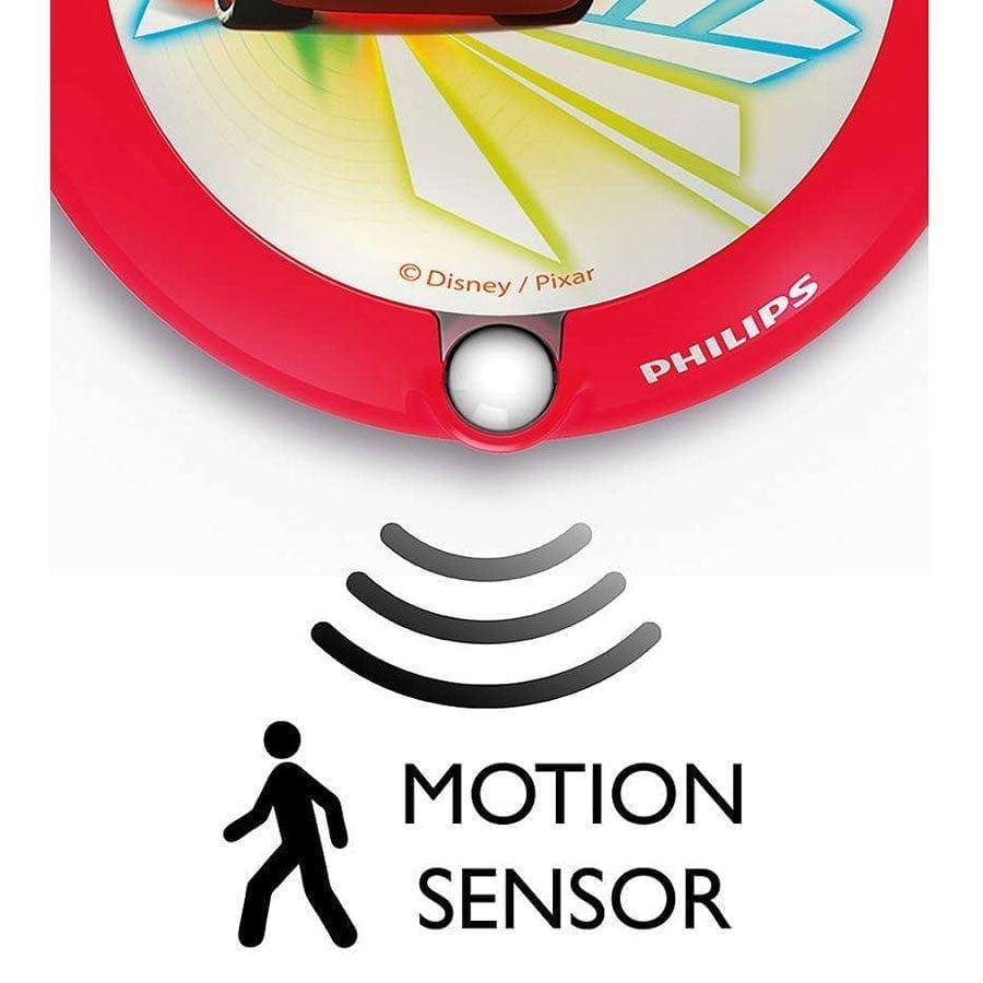 Philips Disney LED Nattlys med sensor Biler-58962