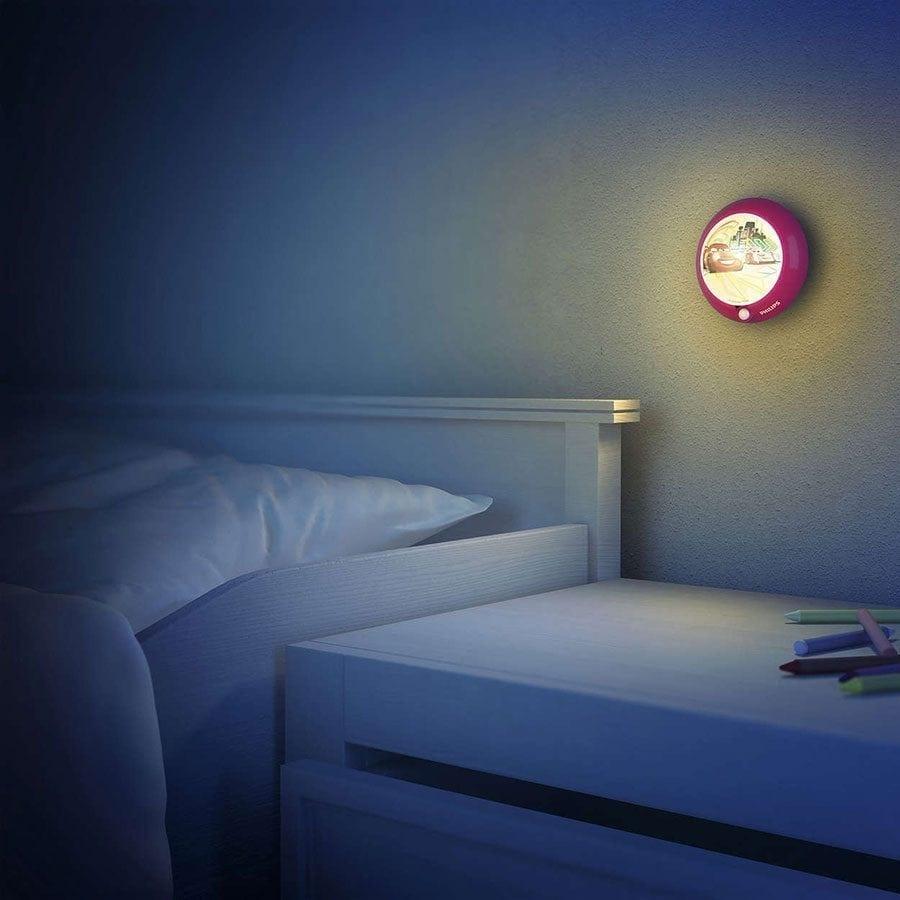 Philips Disney LED Nattlys med sensor Biler-58963