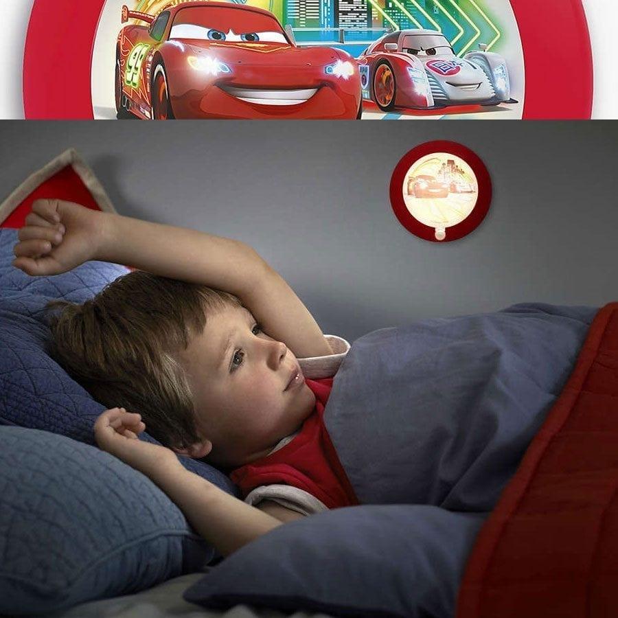 Philips Disney LED Nattlys med sensor Biler-58960
