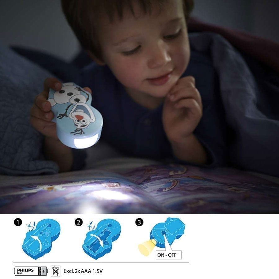 Philips Disney LED Lommelykt Olaf-59016