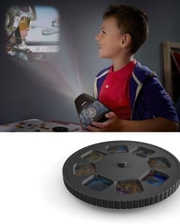 Philips Disney 2-i-1 LED Projektor og Nattlys Star Wars-0