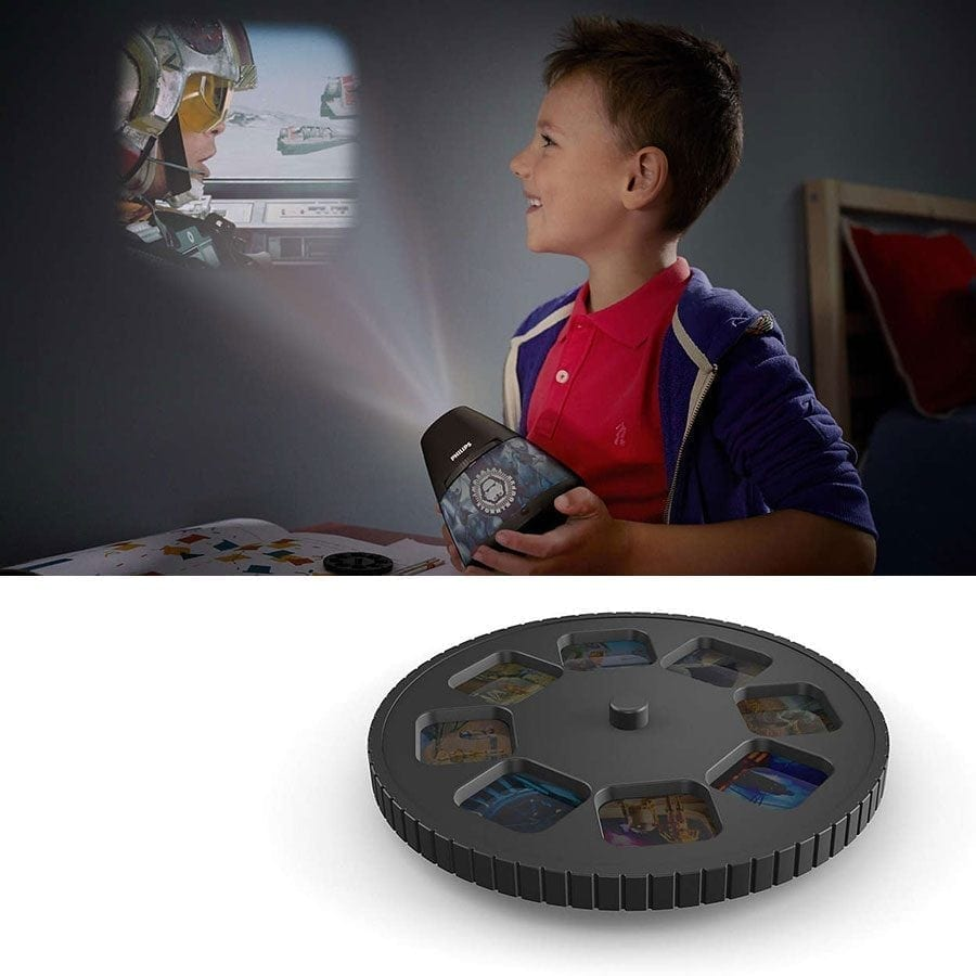 Philips Disney 2-i-1 LED Projektor og Nattlys Star Wars-0