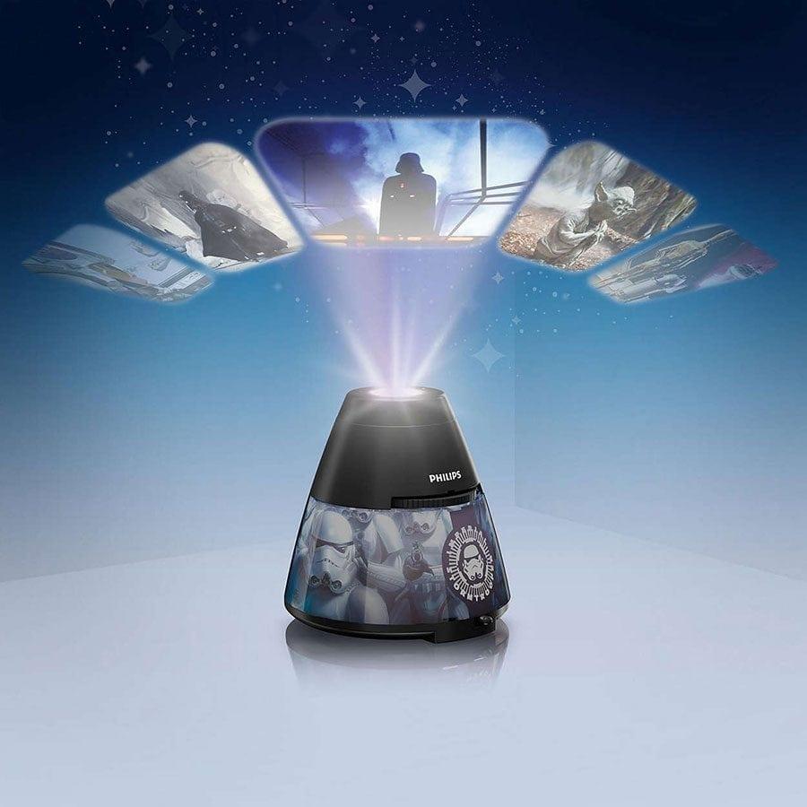 Philips Disney 2-i-1 LED Projektor og Nattlys Star Wars-59119