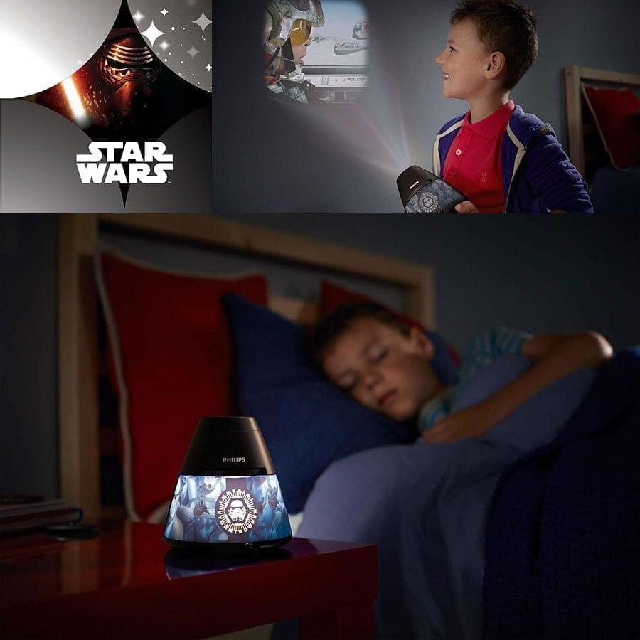 Philips Disney 2-i-1 LED Projektor og Nattlys Star Wars-59123