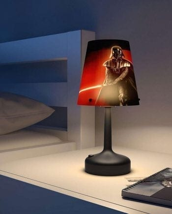 Batteridrevet Star Wars LED Bordlampe Darth Vader-0