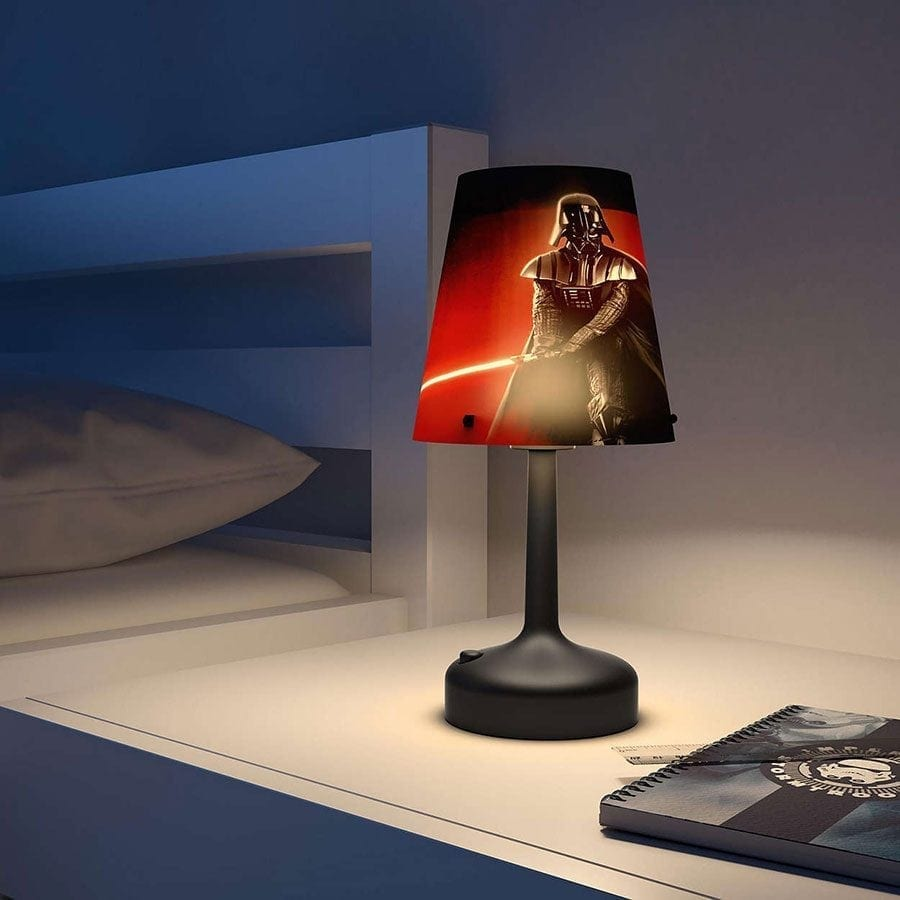 Batteridrevet Star Wars LED Bordlampe Darth Vader-0
