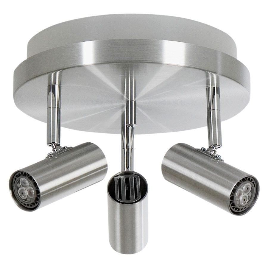 Cato 3 LED Spotlight Rundell m/Opplys-60037