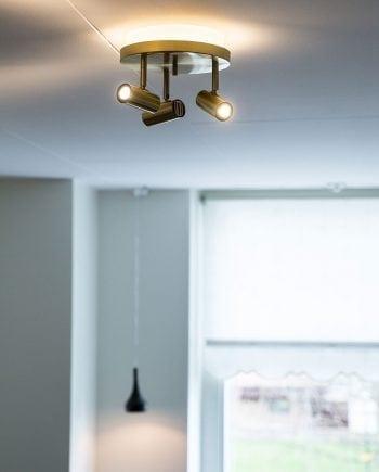 Cato 3 LED Spotlight Rundell m/Opplys-0