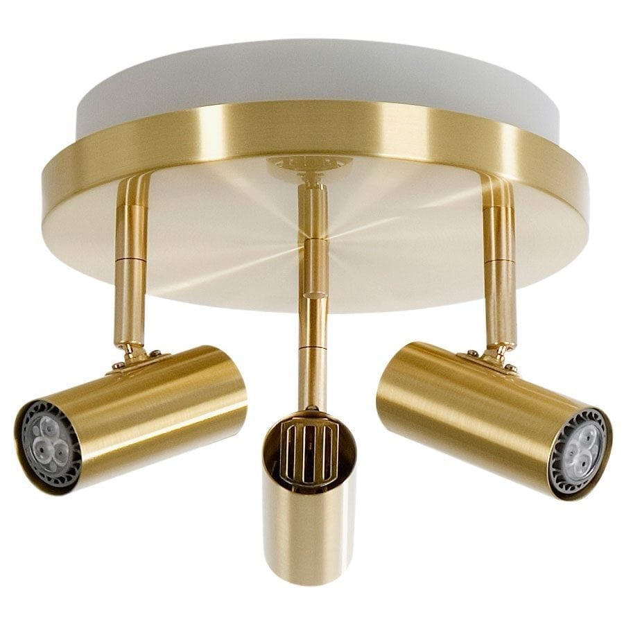 Cato 3 LED Spotlight Rundell m/Opplys-60036