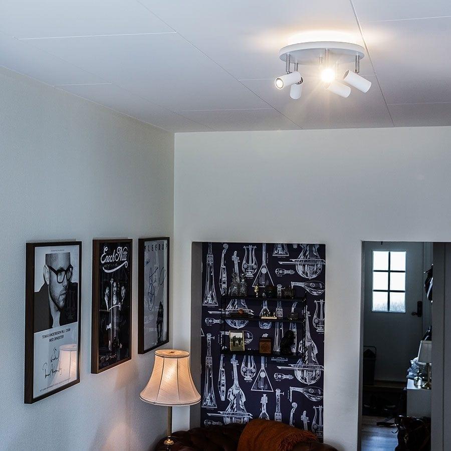 Cato 5 LED Spotlight Rundell m/Opplys-0
