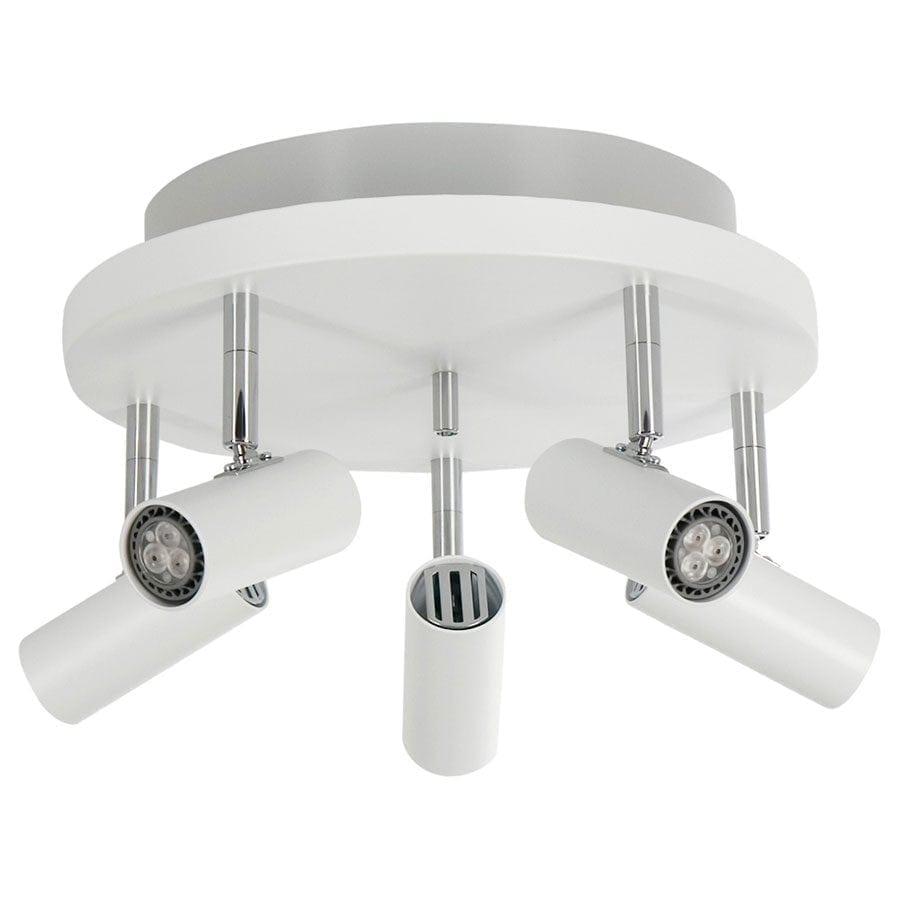 Cato 5 LED Spotlight Rundell m/Opplys-60054