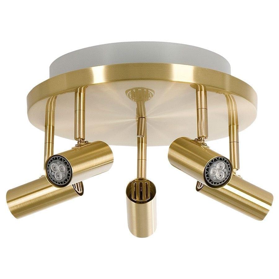 Cato 5 LED Spotlight Rundell m/Opplys-60057