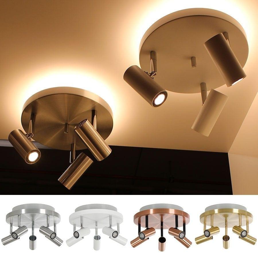 Cato 5 LED Spotlight Rundell m/Opplys-60053