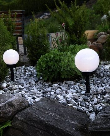Globus LED Solcelle Markeringslys Globe-0