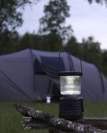 Camper LED Solcelle Campinglykt Dynamo-0
