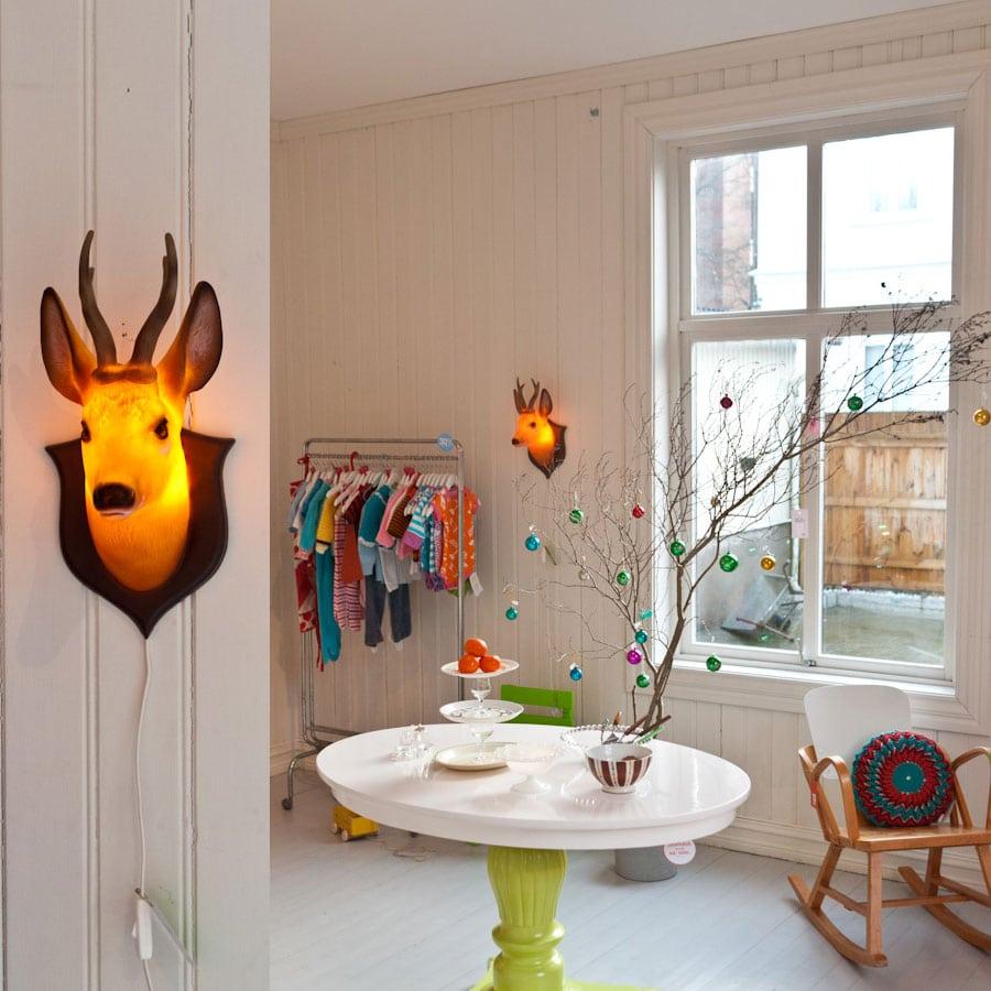 Heico Lampe Rådyrhode Designbelysning.no