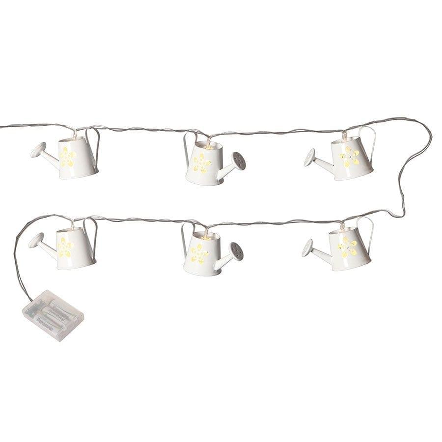 LED Vannkanne Metall Lysslynge 8 Lys-60909
