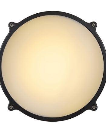 Hublot LED IR Vegg-/Taklampe m/ Sensor-0