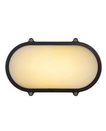 Hublot LED Vegg-/Taklampe Oval-61795