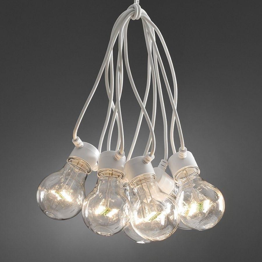 LED Party Lysslynge 10 Lys Hvit Kabel-0