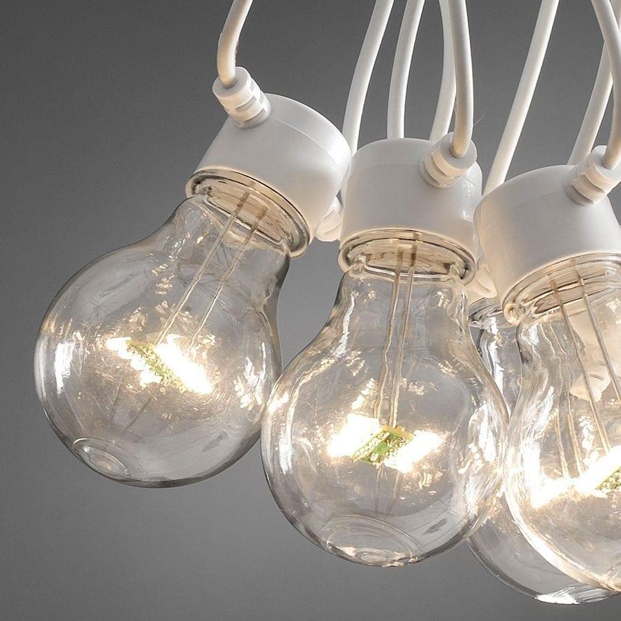LED Party Lysslynge 10 Lys Hvit Kabel-62117