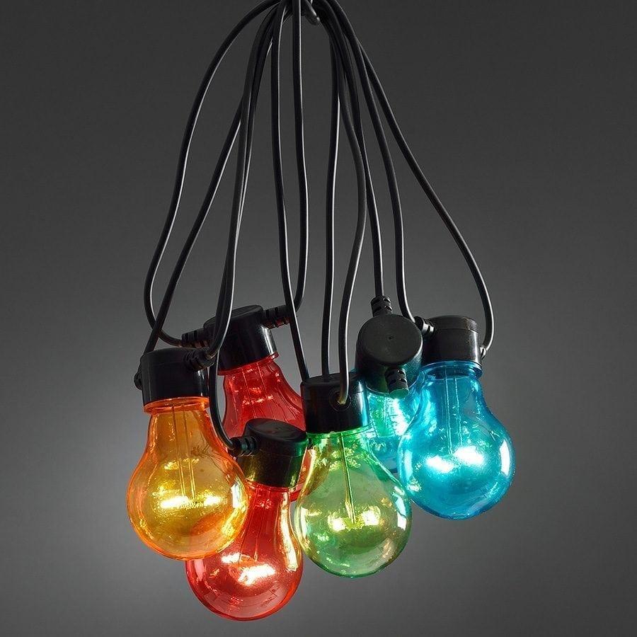LED Party Lysslynge 10 Lys Multifarget Extra Sett-0