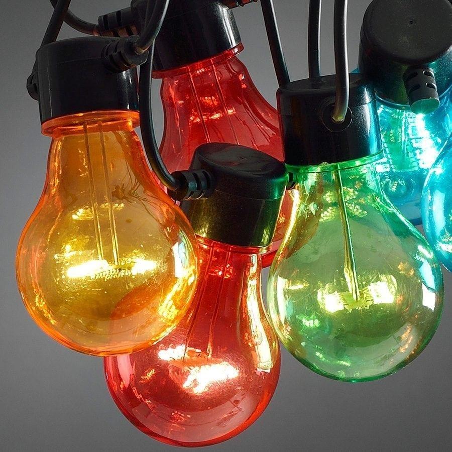 LED Party Lysslynge 10 Lys Multifarget Extra Sett-62060