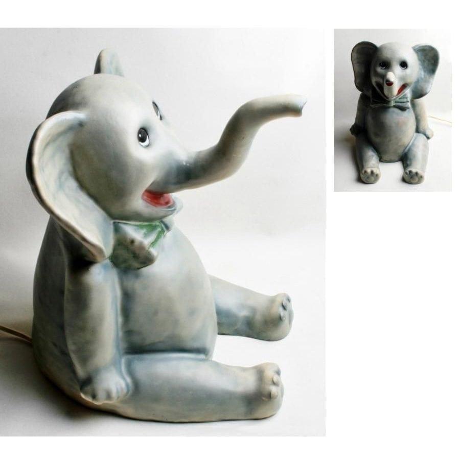 Heico Lampe Sittende Elefant-0