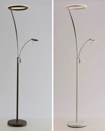 Santos LED Gulvlampe m/ Lesearm-0