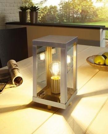 Alamonte Bordlampe Stål-0