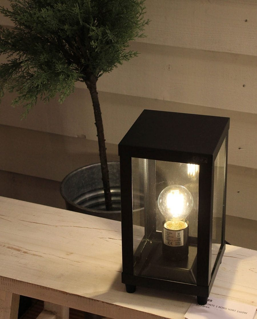 Alamonte 1 Bordlampe Sort-68306