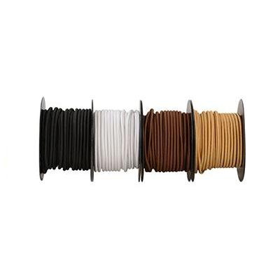 Glatt stoffkabel av silke, Metervare-62884
