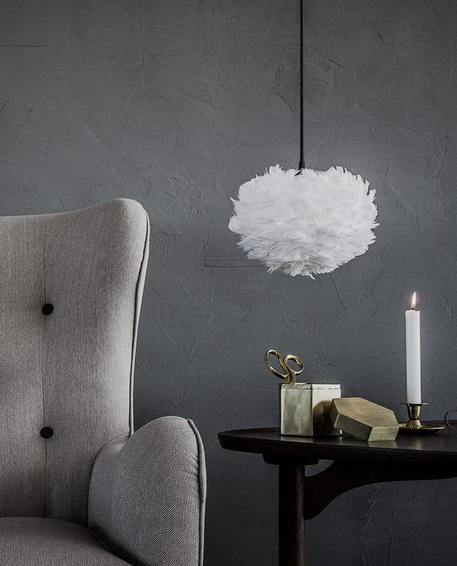 VITA Eos Micro Fjær Hvit Lampeskjerm -0