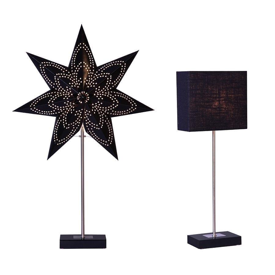 Combi Pack Papirstjerne på fot m/skjerm-0