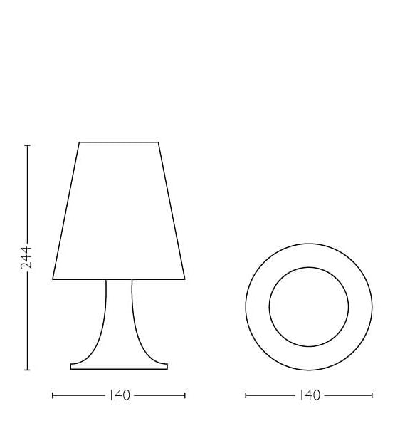 Philips Oppdrag Dory LED Bordlampe-63207