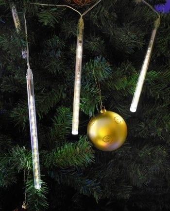 Lyslenke Snøfall 100 LED 30 cm-0