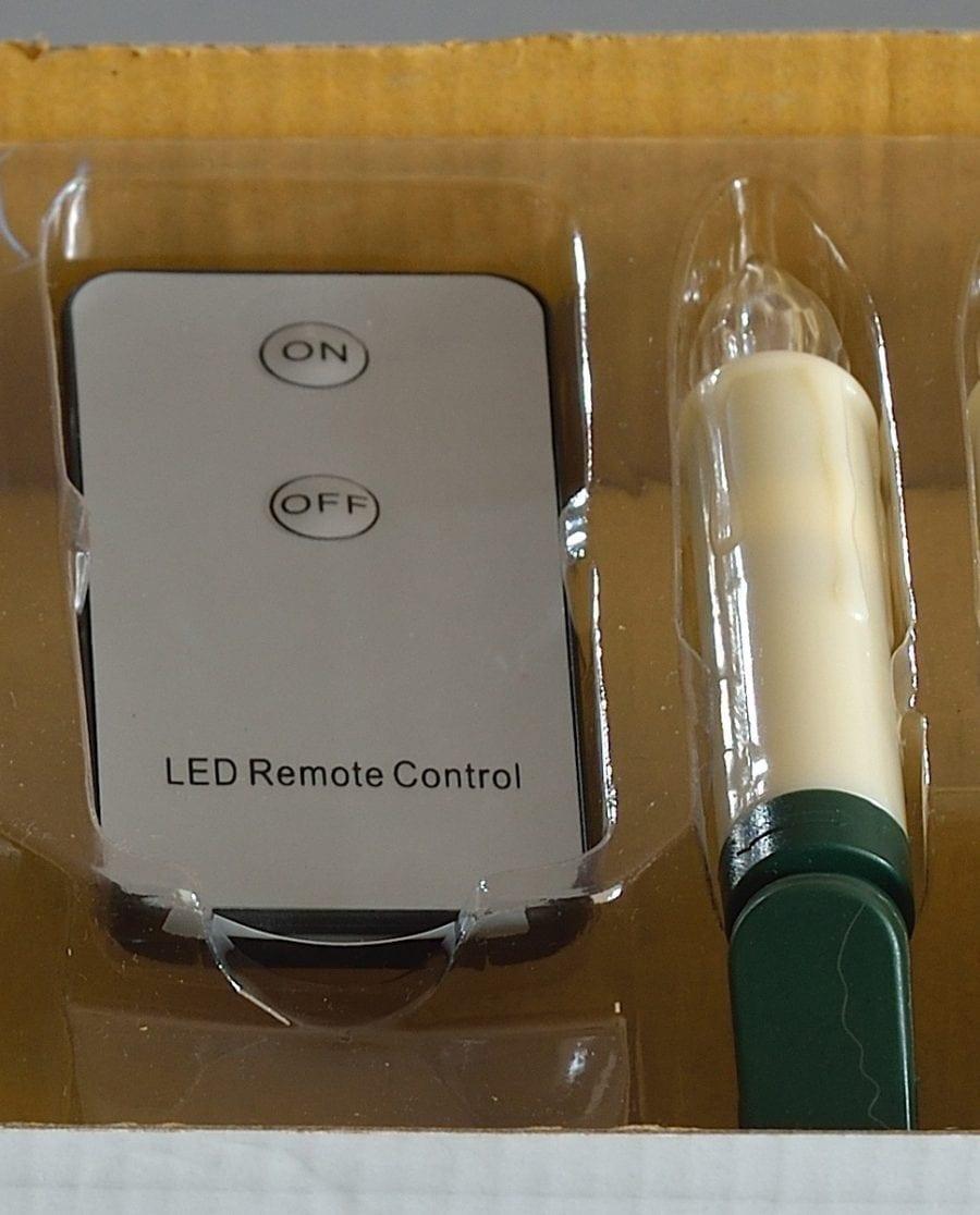 LED Juletrelys Med Fjernkontroll 10 Lys-64504