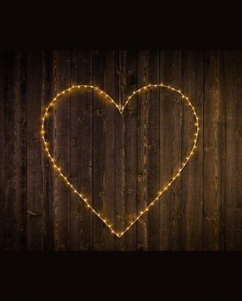 Hjerte Silhuett 80 LED 70 cm-0