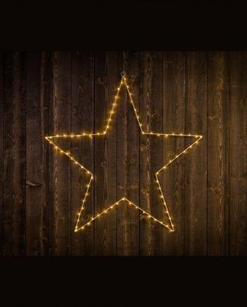 Stjerne Silhuett 80 LED 75 cm-0