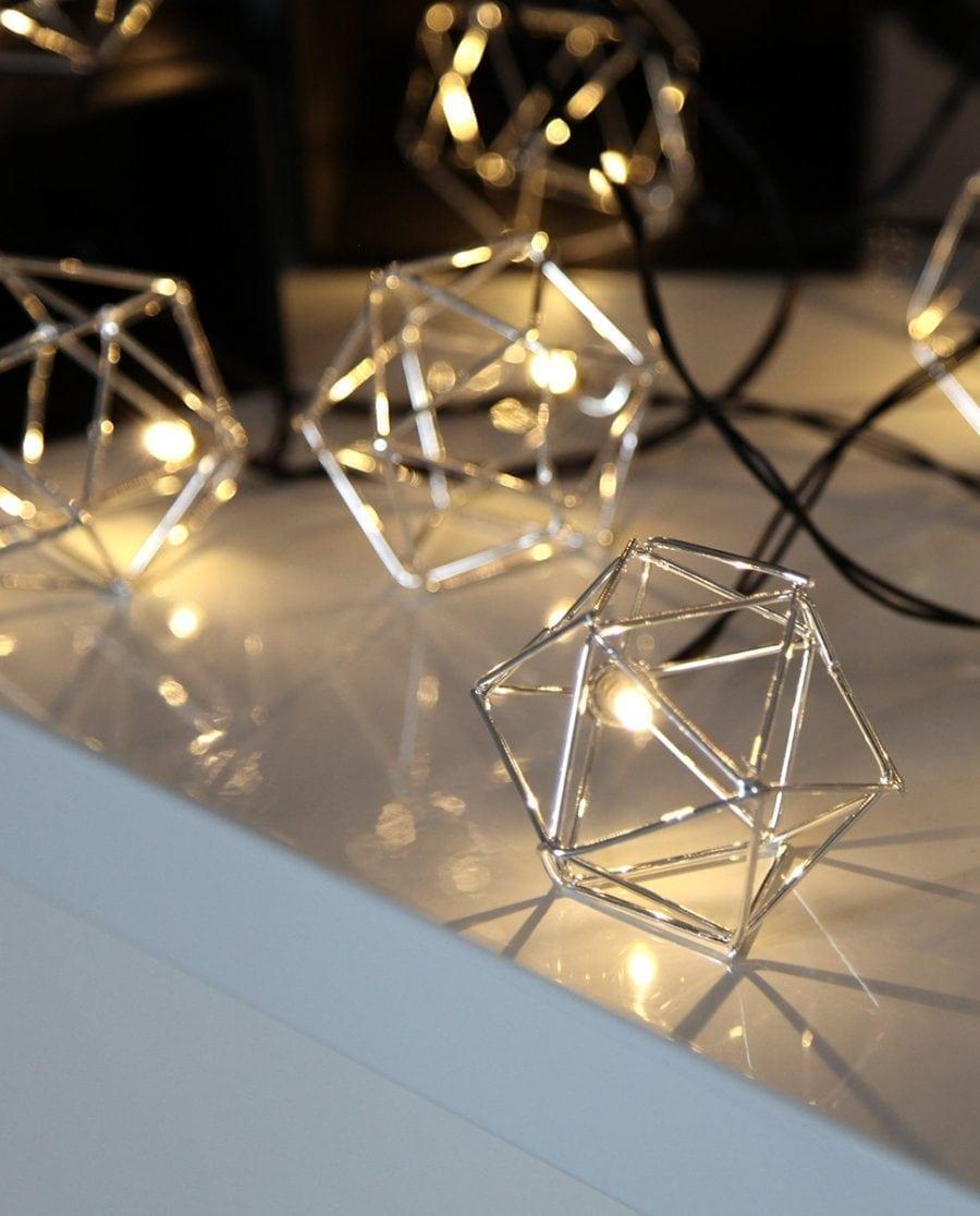 Edge Lysslynge 10 LED Sølv-64586